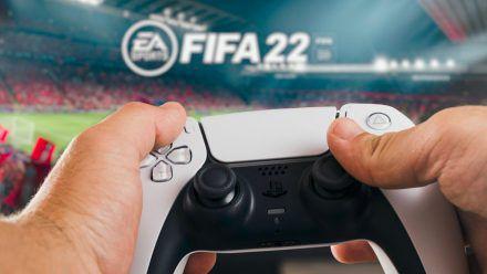 """""""FIFA 22"""" wird nur auf den Next-Gen-Konsolen das neue Feature """"Hypermotion"""" unterstützen. (elm/spot)"""