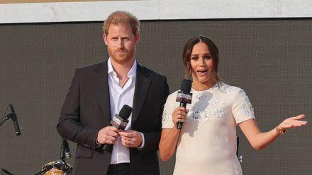 Prinz Harry und Herzogin Megan vor wenigen Wochen in New York. (wue/spot)