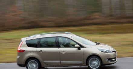 Mit dem Scénic hält Renault einen Van mit bis zu sieben Sitzen im Programm.