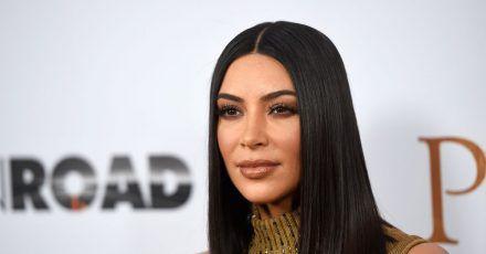 US-Reality-Star Kim Kardashian.