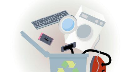 Viele Elektrogeräte kann man kostenlos dem Recycling zukommen lassen.