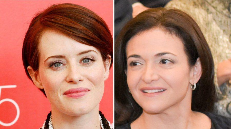 Claire Foy (li.) wird Facebook-Co-Chefin Sheryl Sandberg spielen. (tae/spot)