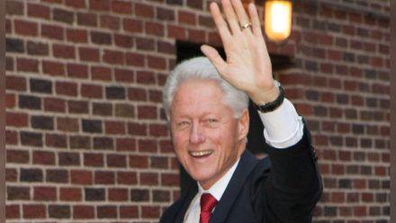 Bill Clinton ist aus dem Krankenhaus entlassen worden. (stk/spot)