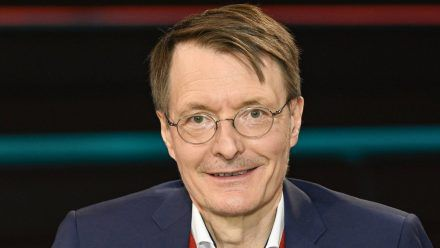Karl Lauterbach bei einem TV-Auftritt. (hub/spot)