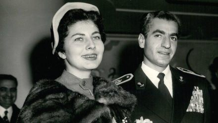 Das ehemalige persische Kaiserpaar: Schah Reza Pahlavi und Kaiserin Soraya. (ln/spot)