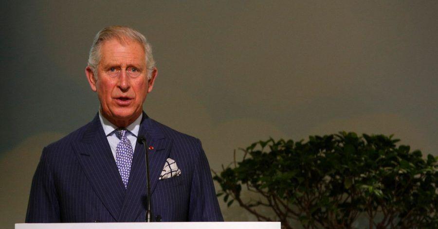 Der britische Prinz Charles bei einer Rede auf der UN-Klimakonferenz COP21 in Le Bourget 2015.