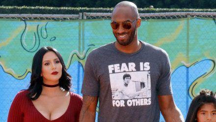 Kobe Bryant und seine Ehefrau Vanessa lernten sich 1999 kennen. (eee/spot)