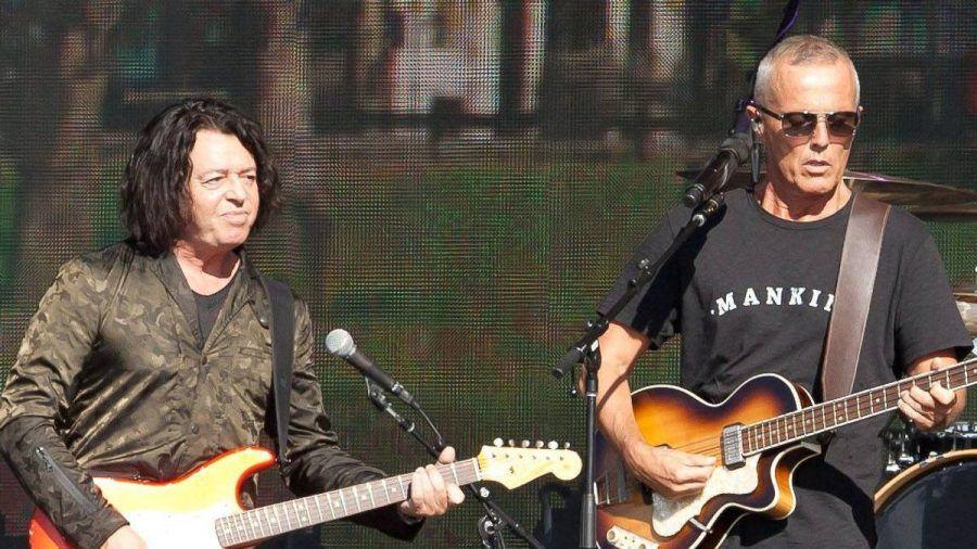 Roland Orzabal und Curt Smith von Tears For Fears während eines Auftritts im Jahr 2017. (wue/spot)