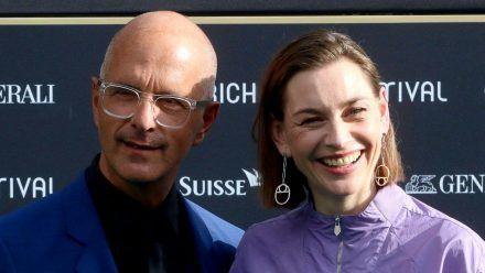 """Christoph Maria Herbst und Christiane Paul sind ab dem 14. Oktober in """"Es ist nur eine Phase, Hase"""" im Kino zu sehen. (aha/spot)"""