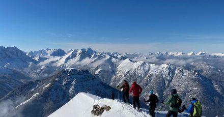 Weite Sicht, Schnee und frische Bergluft: Hauptmotiv für Wintersporturlaub ist laut einer Umfrage demnach das «Naturerleben».