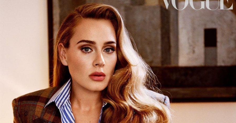 Die britische Sängerin Adele in der amerikanischen «Vogue».