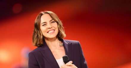 Melanie Chisholm (Mel C) sang ein Duett mit Coldplay-Frontman Chris Martin.
