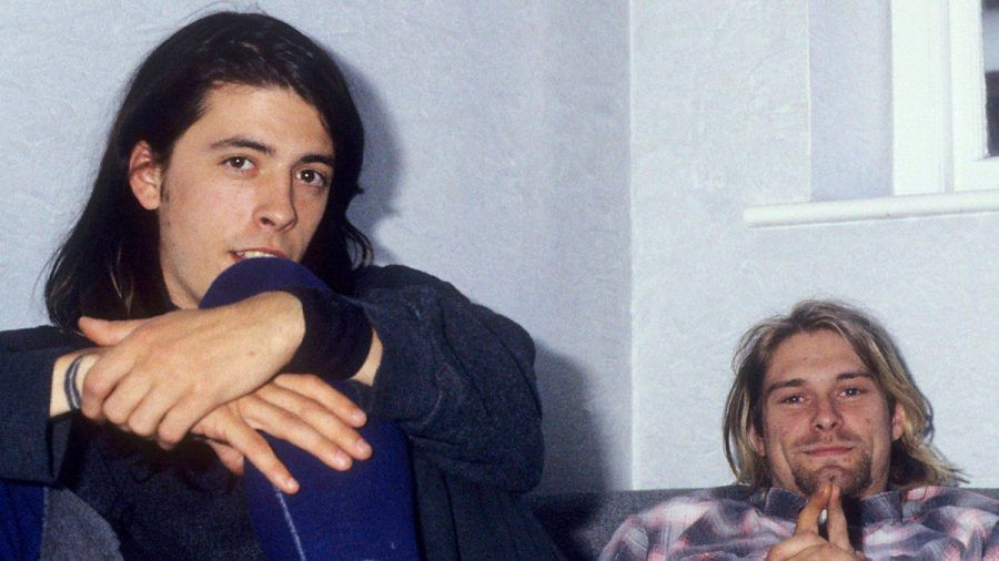 Dave Grohl (l.) und Kurt Cobain zu Nirvana-Zeiten (wag/spot)