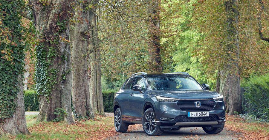 Mit elektrischem Rückenwind: Seinen neuen HR-V bietet Honda nur noch als Hybrid an.