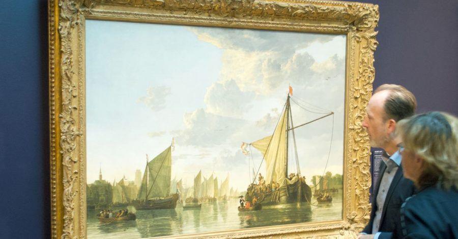 «Die Maas bei Dordrecht» von Aelbert Cuyp.