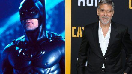 """1997 war George Clooney als Batman im Film """"Batman & Robin"""" zu sehen. (hub/spot)"""