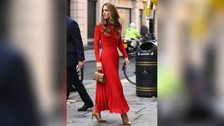 Herzogin Kate auf dem Weg zu einer Charity-Veranstaltung in London. (ili/spot)
