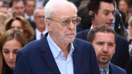 Michael Caine bei einer Filmpremiere in London. (hub/spot)