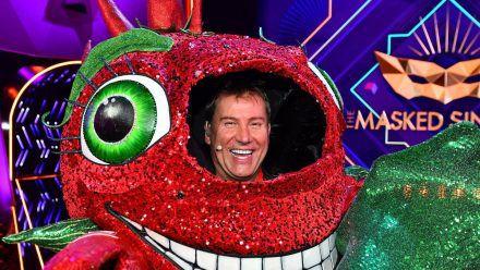 """Die Chili: """"Tagesschau""""-Chefsprecher Jens Riewa musste in der ersten Folge """"The Masked Singer"""" seine Maske abnehmen. (ncz/spot)"""