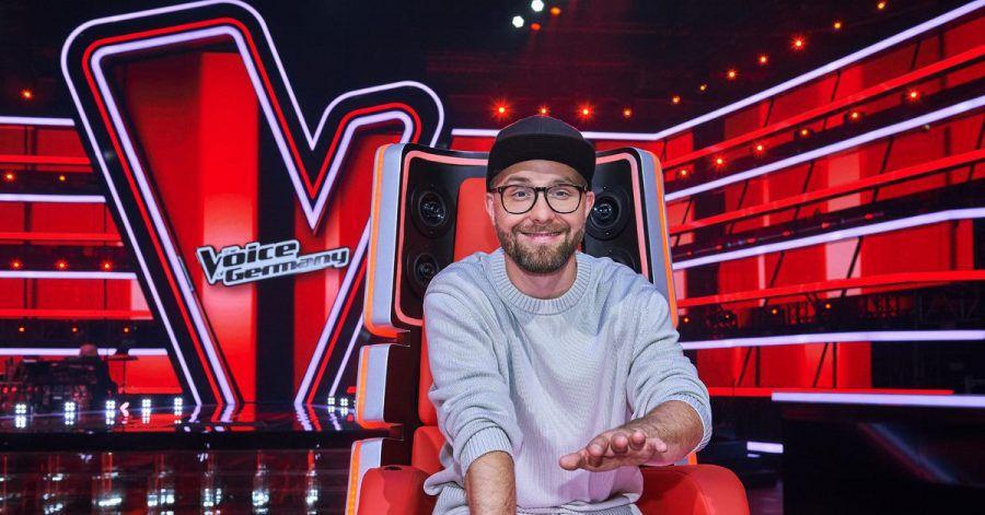 "Sänger Mark Forster, Coach der Castingshow ""The Voice of Germany""."