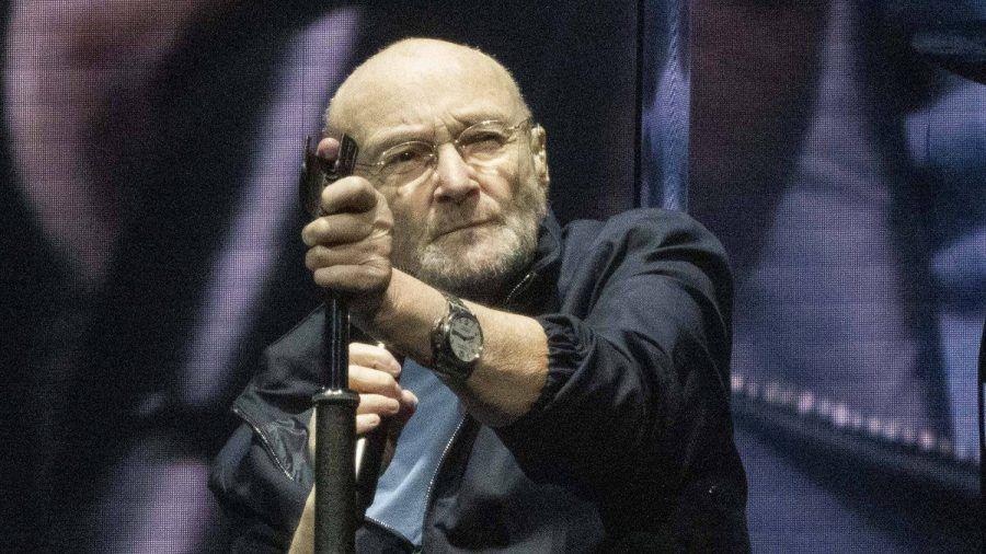 Phil Collins beim Auftaktkonzert der aktuellen Genesis-Tour im englischen Birmingham. (wag/spot)