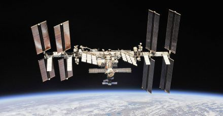 Die Internationale Raumstation: Die Crew-Mitglieder sollen zu Weihnachten auch Geschenke erhalten.