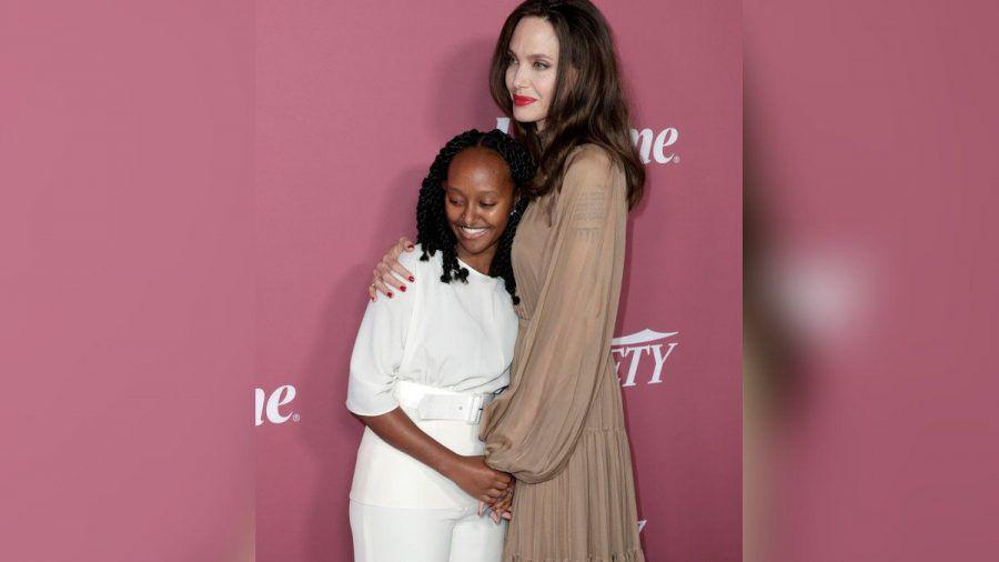 Angelina Jolie und ihre Tochter Zahara in Beverly Hills. (hub/spot)