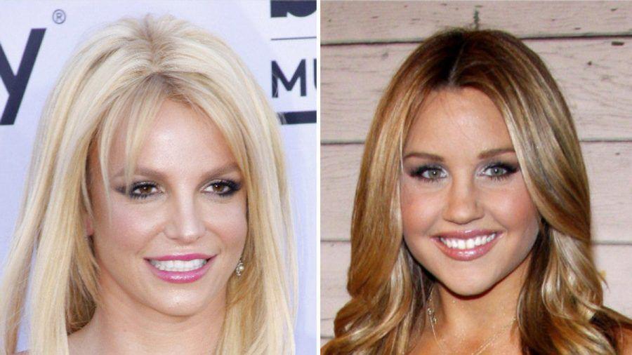 Britney Spears (l.) und Amanda Bynes stehen unter Vormundschaft. (tae/spot)