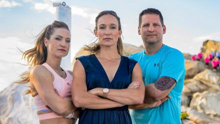 """Das Team von """"Leben leicht gemacht - The Biggest Loser"""": Neuzugang Sigrid Ilumaa (li.) neben Christine Theiss und Ramin Abtin. (stk/spot)"""