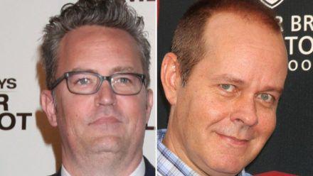 """Matthew Perry (l.) hat mit James Michael Tyler einen """"guten Freund"""" verloren. (wue/spot)"""