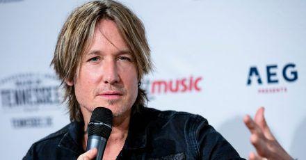 Der Pop-und Countrysänger Keith Urban wird 54.