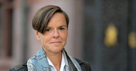 """Antje Ravik Strubel, Autorin des Buches """"Blaue Frau"""", ist mit dem Deutschen Buchpreis ausgezeichnet worden."""