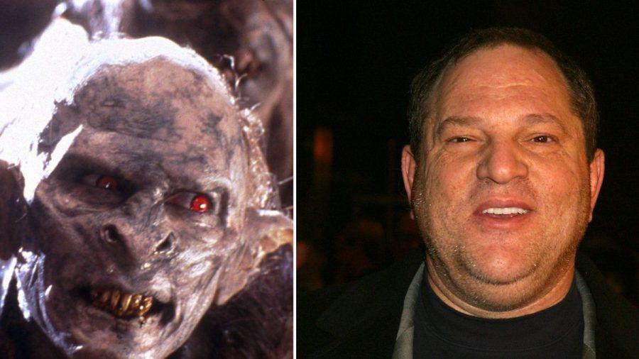 """""""Herr der Ringe""""-Star Elijah Wood behauptet, dass eine Ork-Maske nach dem Vorbild von Harvey Weinstein entworfen wurde. (hub/spot)"""