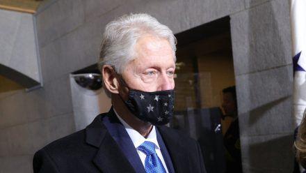 Bill Clinton während der Amtseinführung von Joe Biden im Januar 2021. (dr/spot)