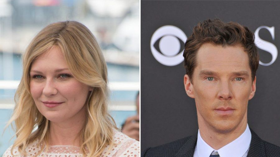 """Kirsten Dunst und Benedict Cumberbatch standen für """"The Power of the Dog"""" gemeinsam vor der Kamera. (aha/spot)"""