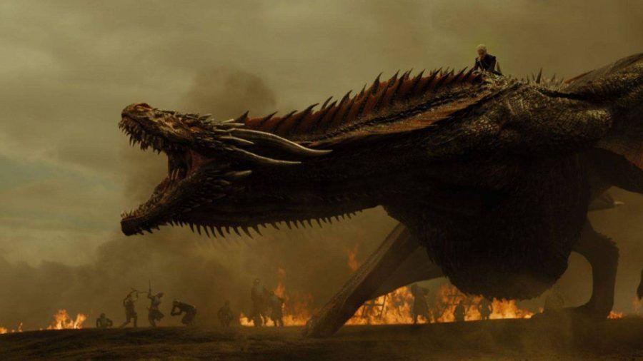"""Schon in """"Game of Thrones"""" spielten Drachen eine wichtige Rolle. (eee/spot)"""