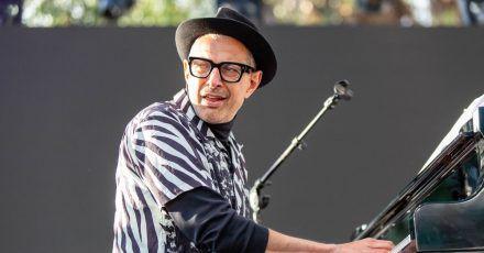Jeff Goldblum am Klavier.