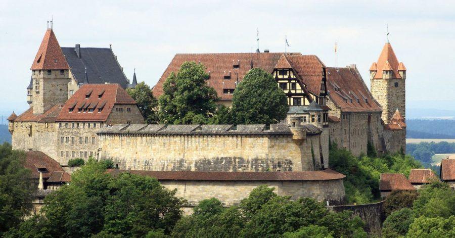 Die Veste Coburg gehört zu den am besten erhaltenen Burgen in Deutschland.