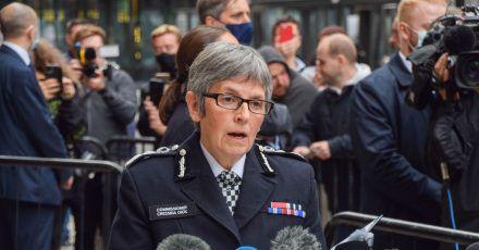 Die Londoner Polizeichefin Cressida Dick steht seit längerer Zeit in der Kritik.