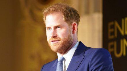 """Prinz Harry, hier auf einem Event im vergangenen Jahr, zeigte sich """"berührt"""" von den eingereichten Fotos. (wue/spot)"""