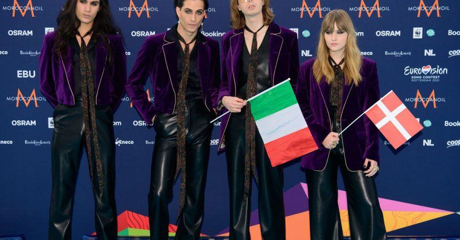 Die Rockband Måneskin aus Italien gewann den ESC in diesem Jahr.