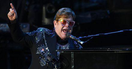 Elton John hat den Lockdown mit Musik überstanden.