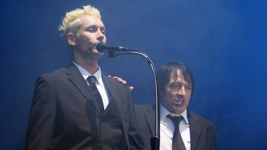 "Farin Urlaub und Bela B bei ""Rock am Ring"" 2007. (ncz/spot)"