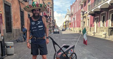 Extremsportler Jonas Deichmann will vom karibischen Cancún aus per Boot nach Portugal weiterfahren.