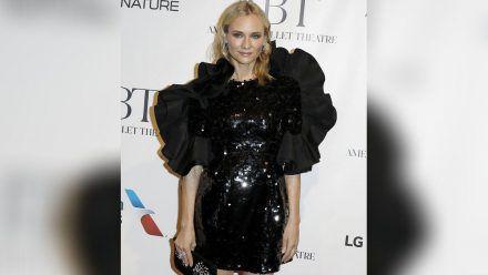 Diane Kruger glitzernd in New York. (mia/spot)