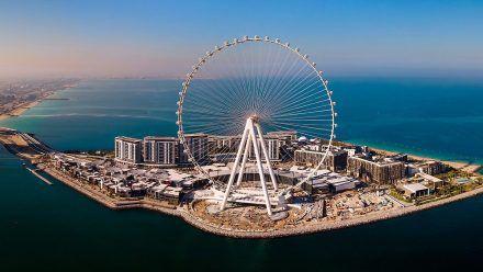 Das größte Riesenrad der Welt ist jetzt 250 Meter hoch - die Bilder