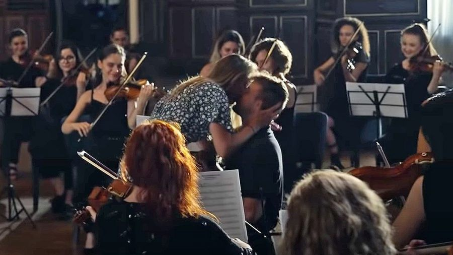 Alexander Knappe: Was für ein Heiratsantrag mit Orchester!