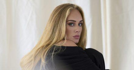 Die britische Sängerin Adele.
