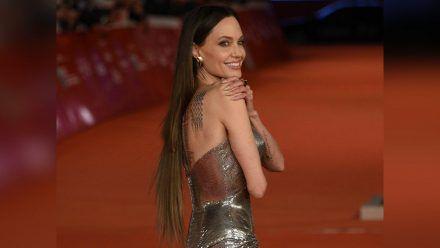 Angelina Jolies Frisur in Rom sorgte für Gesprächsstoff. (hub/spot)