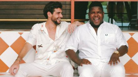 Alvaro Soler (l.) und Ray Dalton sind während ihrer Zusammenarbeit Freunde geworden. (tae/spot)
